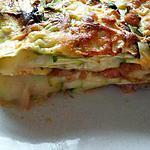 recette Gratin de courgette comme des lasagnes