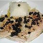 recette Ailes de raie au beurre noir