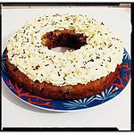 recette couronne quetsches-coco et chantilly maison