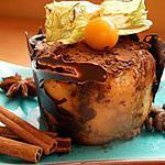 recette Charlotte au chocolat noisettes