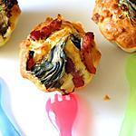 recette Muffin salé artichaut bacon