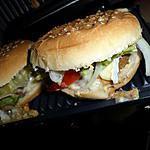 recette Burger au saint agur