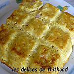 recette gâteau de pâtes au jambon et au chèvre