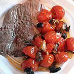 recette beef autruche et tomate au four