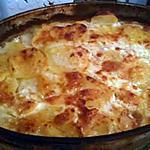recette Gratin dauphinois a la mozzarella
