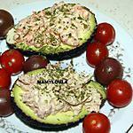 recette Avocat crevette/thon
