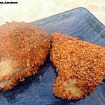 recette Escalope panée au four