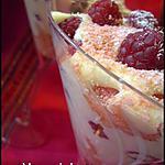 recette Tiramisu aux Framboises au Soho et Eau de Rose