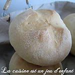 recette Petits pains à la semoule