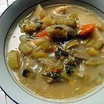 recette Soupe aux légumes et au cheddar (à la mijoteuse)