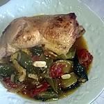 recette cuisse de dinde aux légumes du jardin