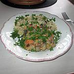 recette gratin fruits de mer