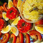 recette Tartare de poivron et thon mayonnaise