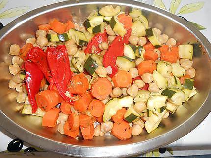 Couscous legumes vapeur 430