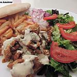 recette Assiette complète kebab