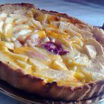 recette tarte aux trois fruits