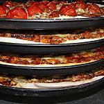 recette pizzas : 2 bolognaise, 2 jambon cru