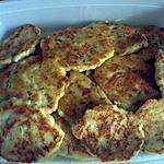 recette galette de choux fleur au lardon