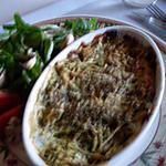 recette gratinée de courgettes au fromage de chèvre
