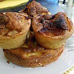 recette CAKES MOELLEUX AUX POMMES