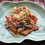recette Poulet sauté à la sauce tamarin