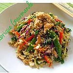 recette Salade de Quinoa façon Asiatique