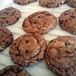 recette cookies au nutela et pepites de chocolat