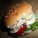 recette Burger bagnat