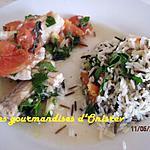 recette pistarielle avec de la saumonette