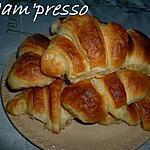 recette Croissants au beurre maison
