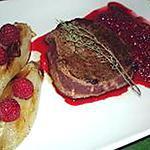 recette Tournedos aux endives, sauce framboise