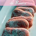recette Les Biscuits Roses de Reims