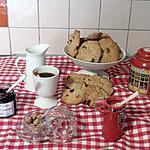 recette cookies avoine cranberries