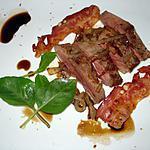 recette Magret de canard au bacon