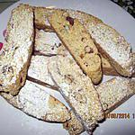 Cantucci -biscuits aux amandes