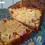 recette Cake salé jambon, tomates séchées et ciboulette