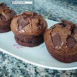 Muffins extra moelleux choco noisettes