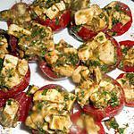 recette Tomates grappe farcies a la mozzarella