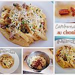 recette Carbonara au chorizo