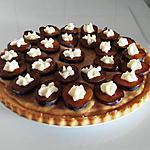 recette génoise à la crème vanille et quetsches façon tarte