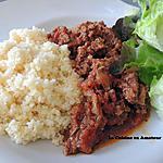 recette Viande hachée aux épices