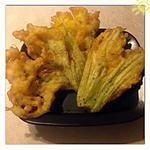 recette Beignets de fleurs de courgettes