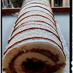 recette roulé à la pâte à tartiné chocolat praliné