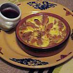 recette cassolette au peches  ;; sur une idée  de croquant fondant  gourmand  et coulis fraises