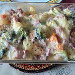 recette Gratin de legume au fromage a raclette