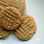 recette Biscuits au beurre d'arachide sans farine et sans lactose