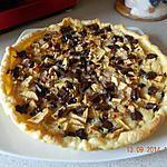 recette Tarte pommes poires chocolat