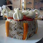 recette gateau de salade riz macédoine