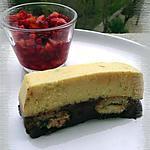 recette Terrine biscuitée aux deux citrons ganache au chocolat