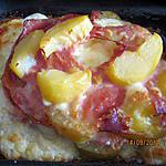 Tortino di patate , servi avec le blanc de poulet au citron